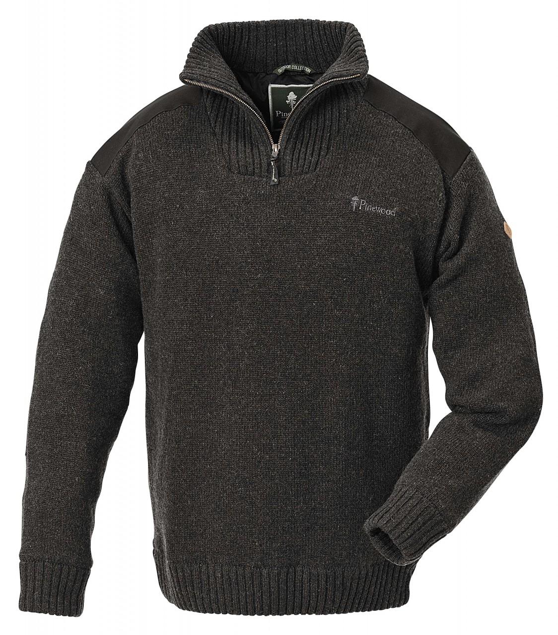 Hurrycane Pullover grau/melange
