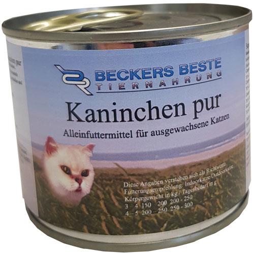 Beckers Beste Sensitive Kaninchen pur 200 g