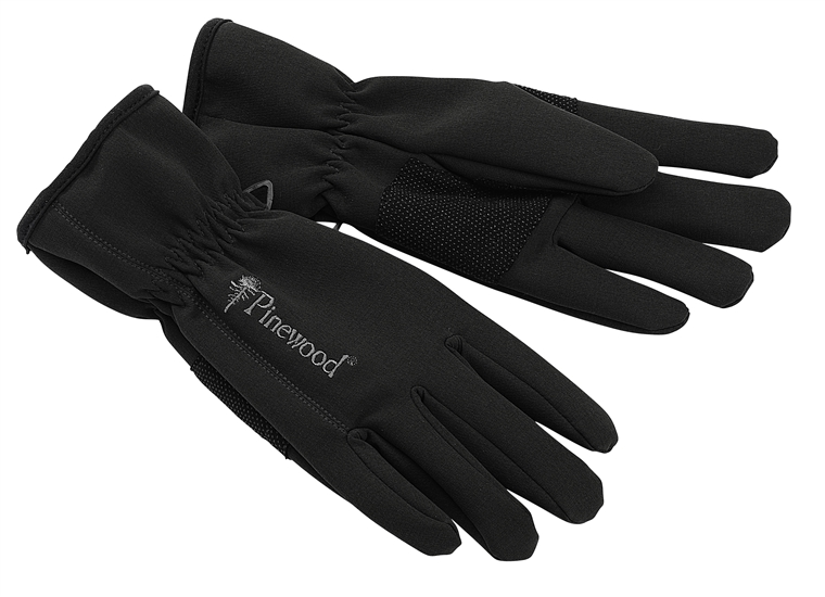 Softshell-Handschuhe schwarz, Gr. XL-XXL